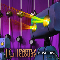 TG11 Partly Cloudy Music Disc